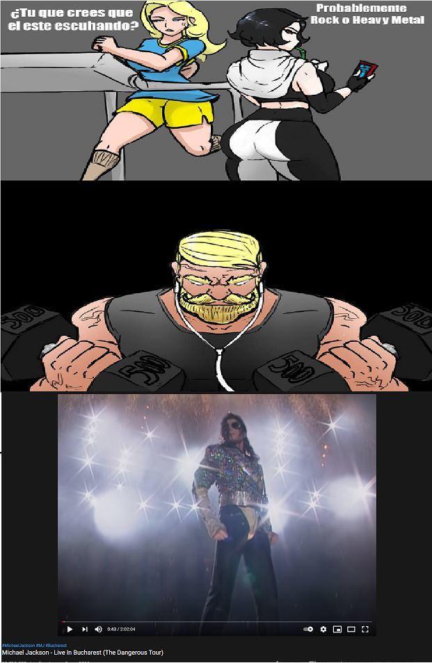 michael jacksonGOD - meme