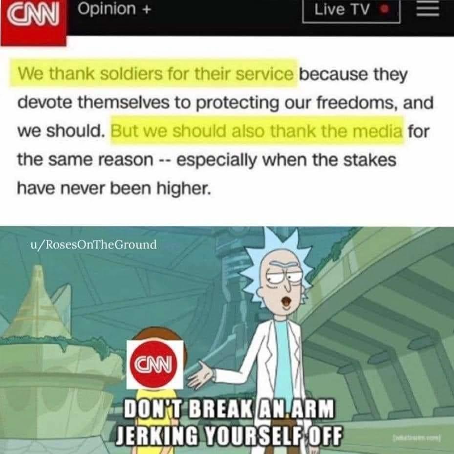 Thanks for the propoganda - meme