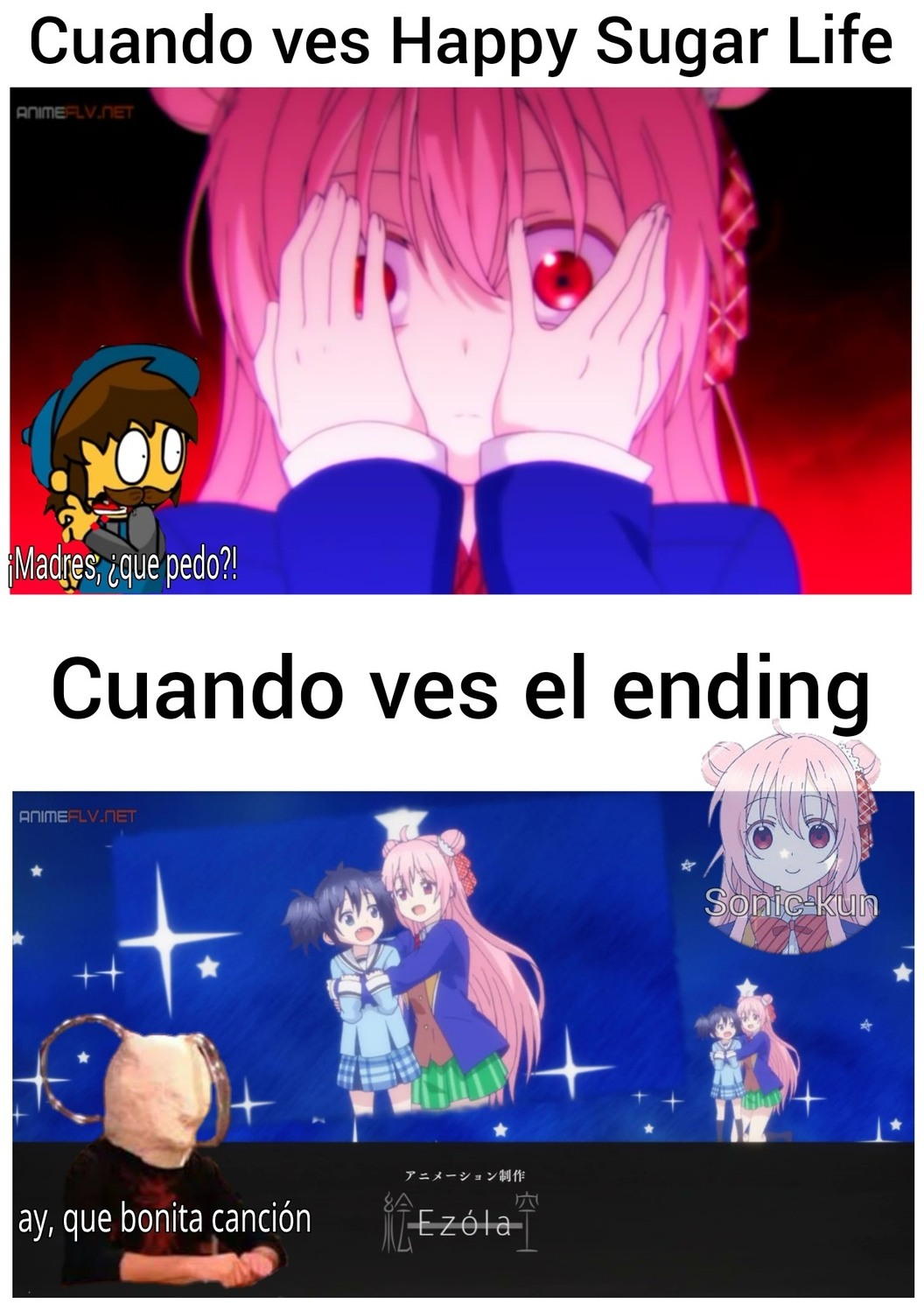 12va: Vida: Happy Sugar Life - meme