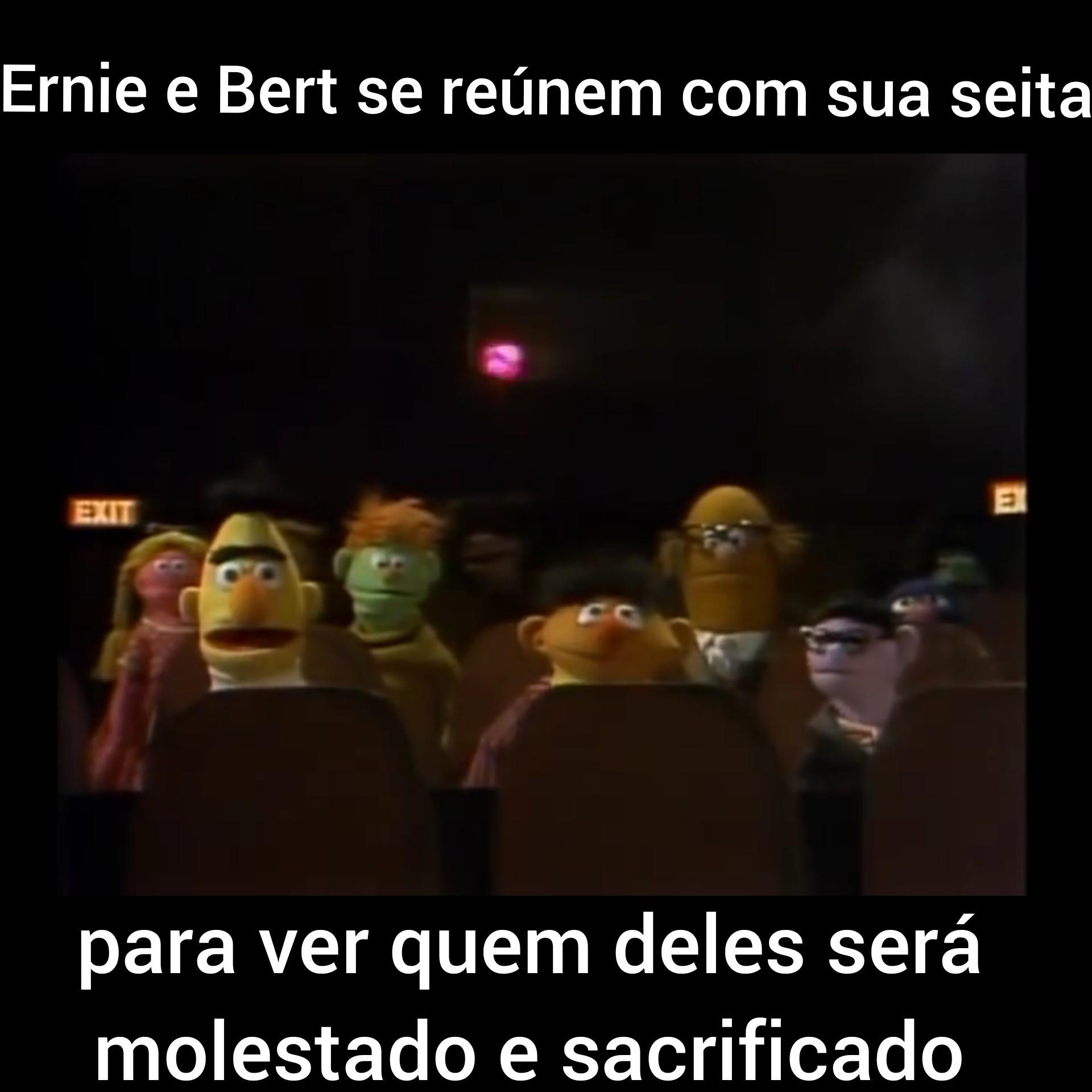 Não sei Bert, Bert? - meme
