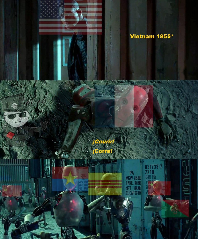 Francia y su legion extranjera sabian lo que decian... - meme