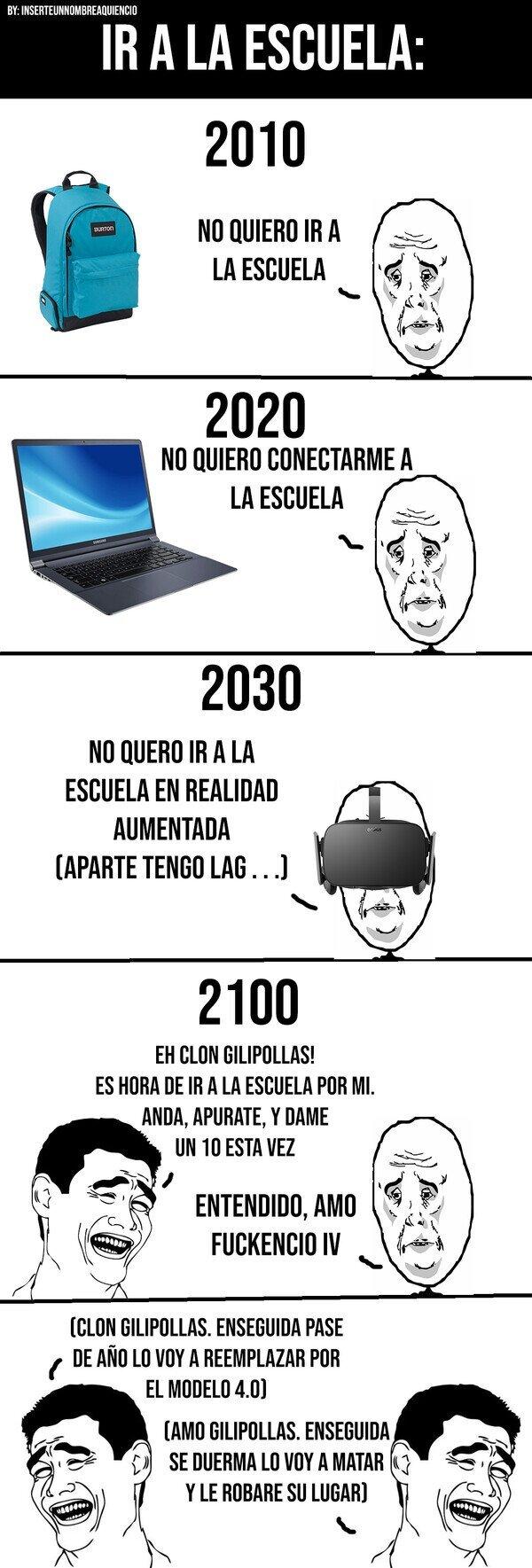 El futuro es hoy oíste viejo - meme