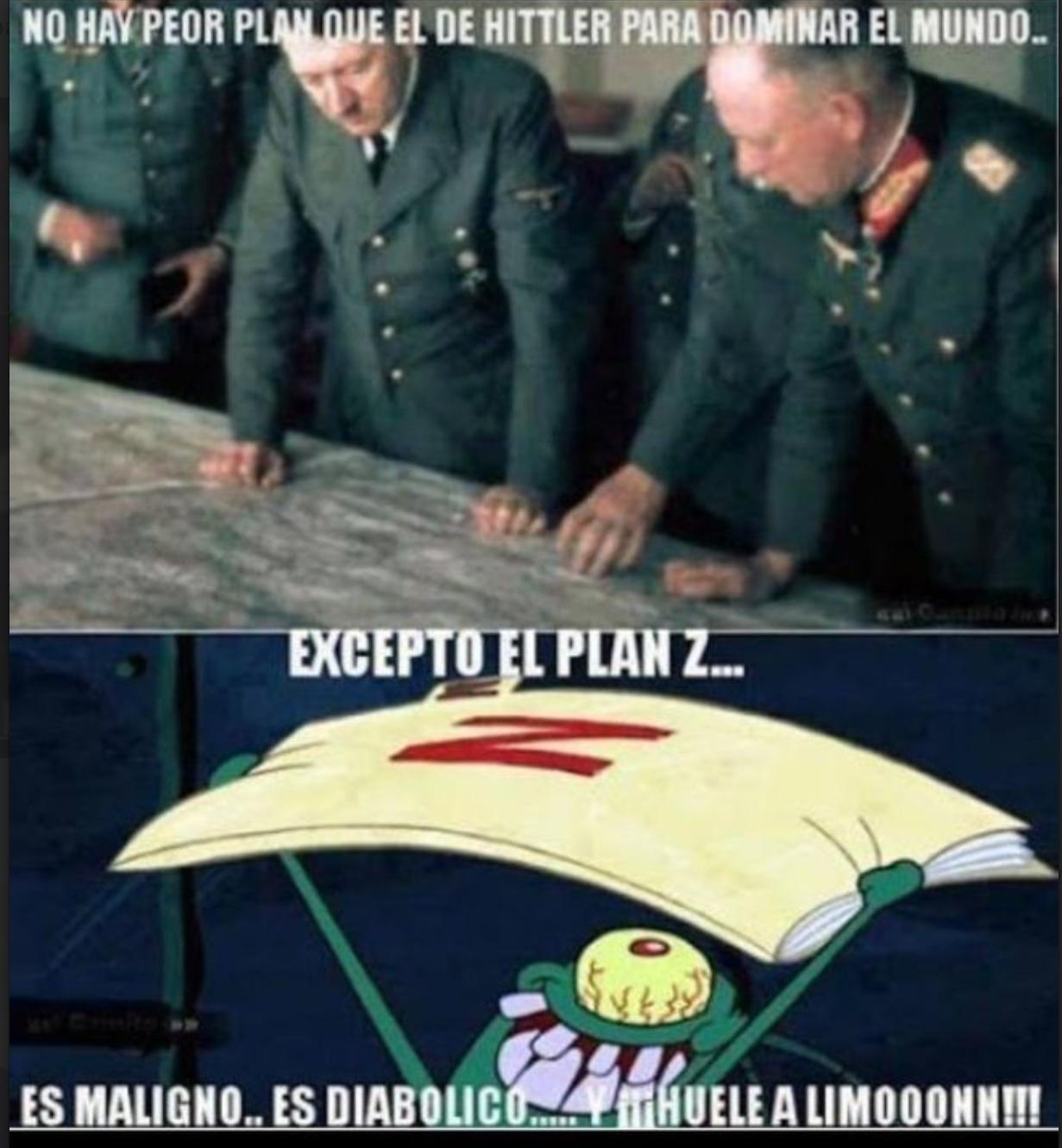 el gran plan z jajaja - meme