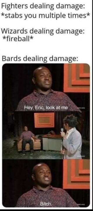 Bard fight - meme