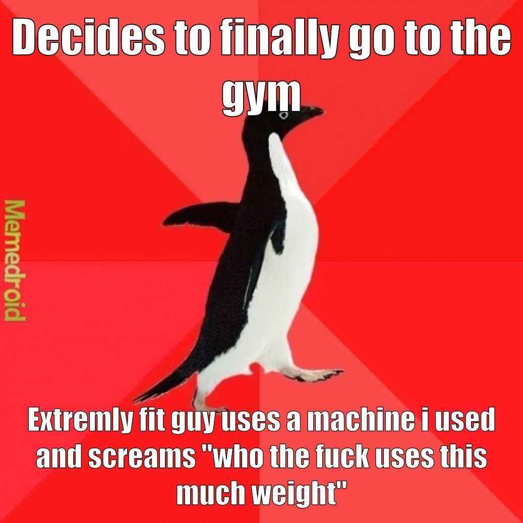 he then proceeded to lower the weight by 20 kilos - meme