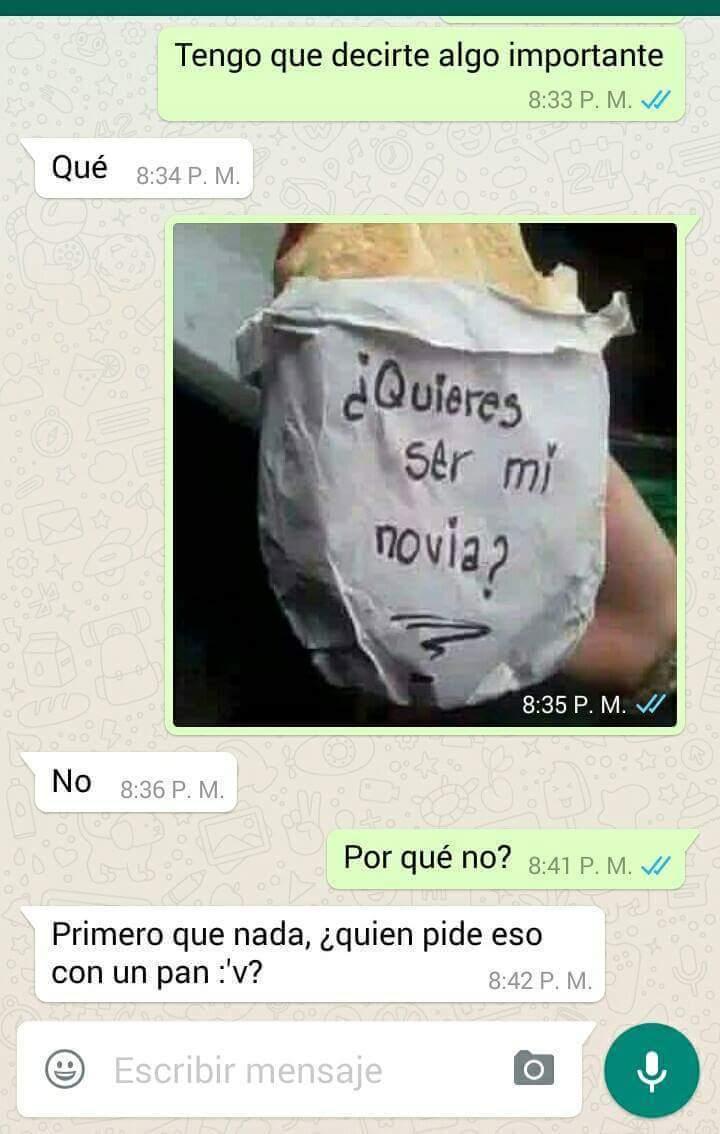 Que romantico - meme