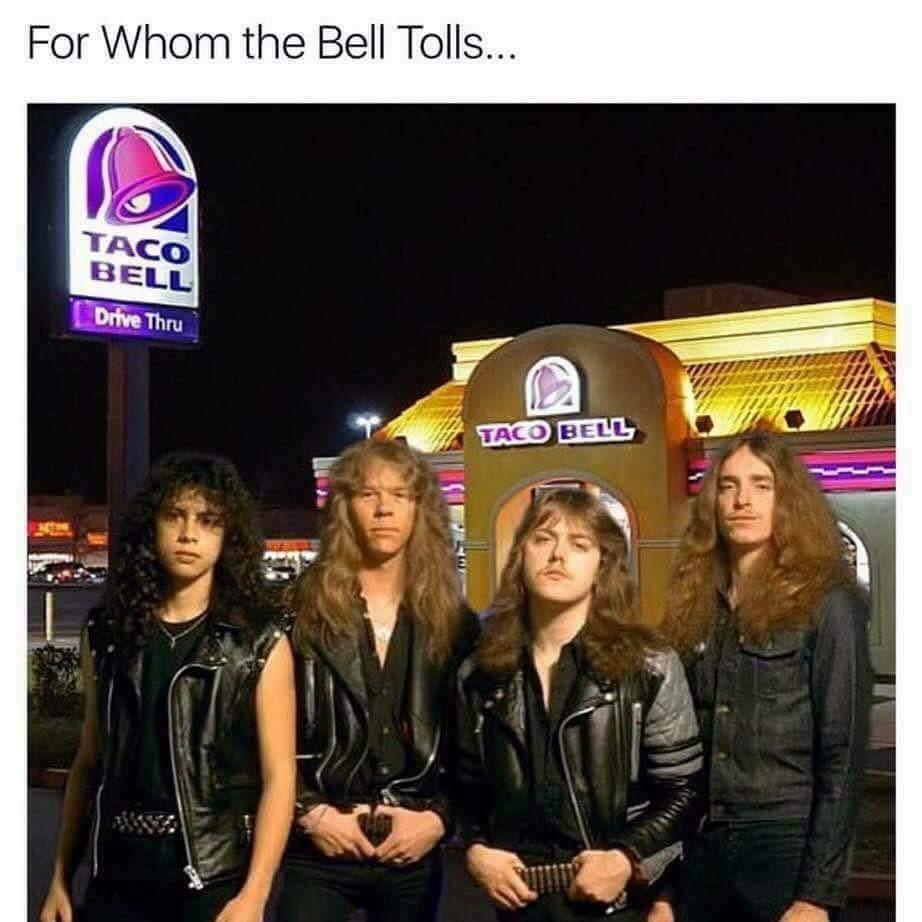 Metallica forever - meme