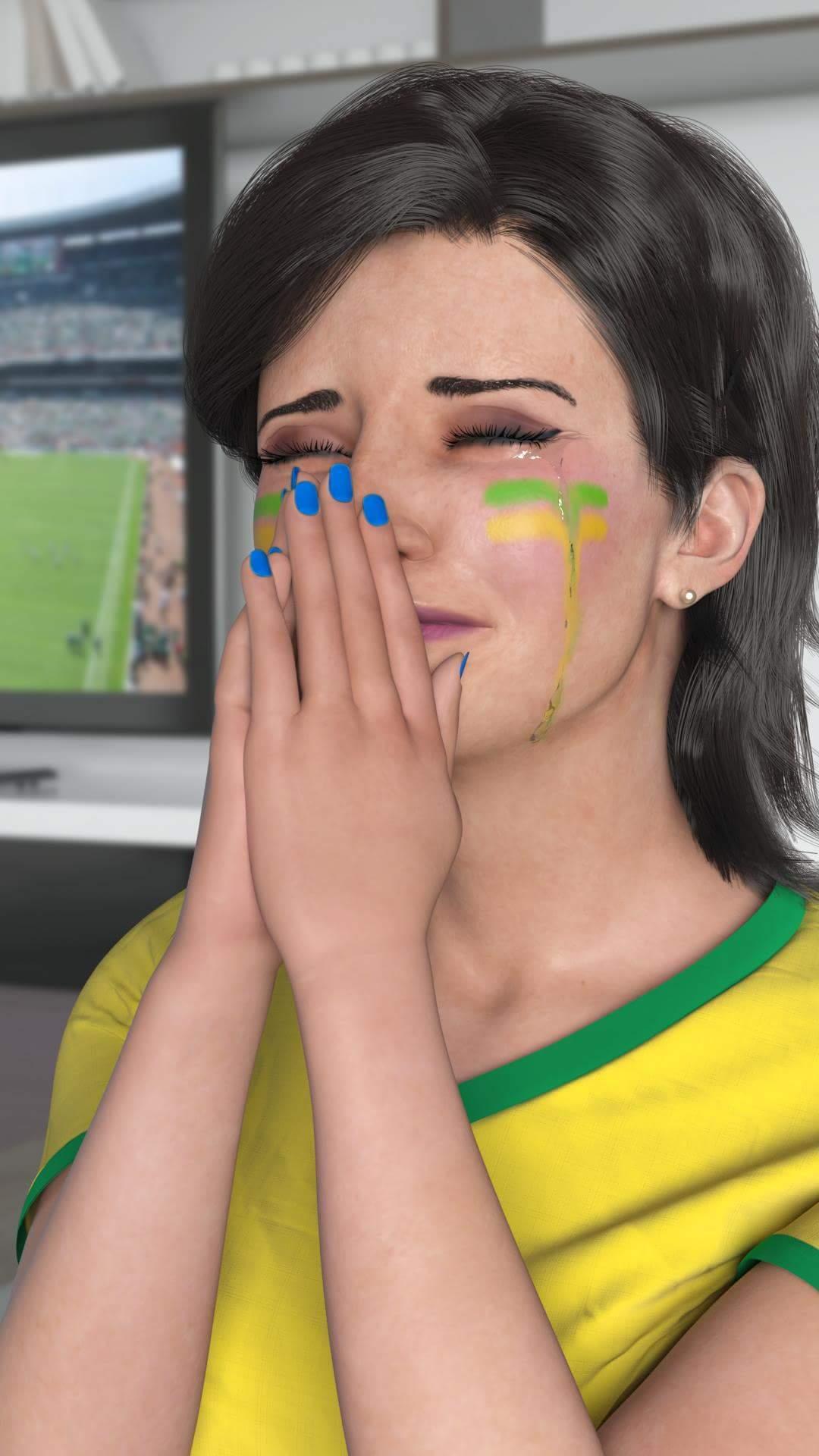 A LU DA MAGAZINE LUIZA TA CHORANDO :C - meme