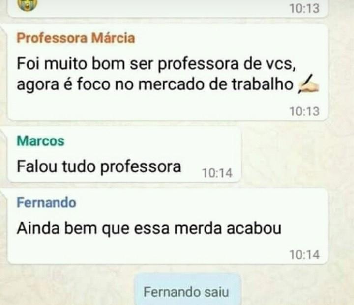Fernando fodasekkkkk - meme
