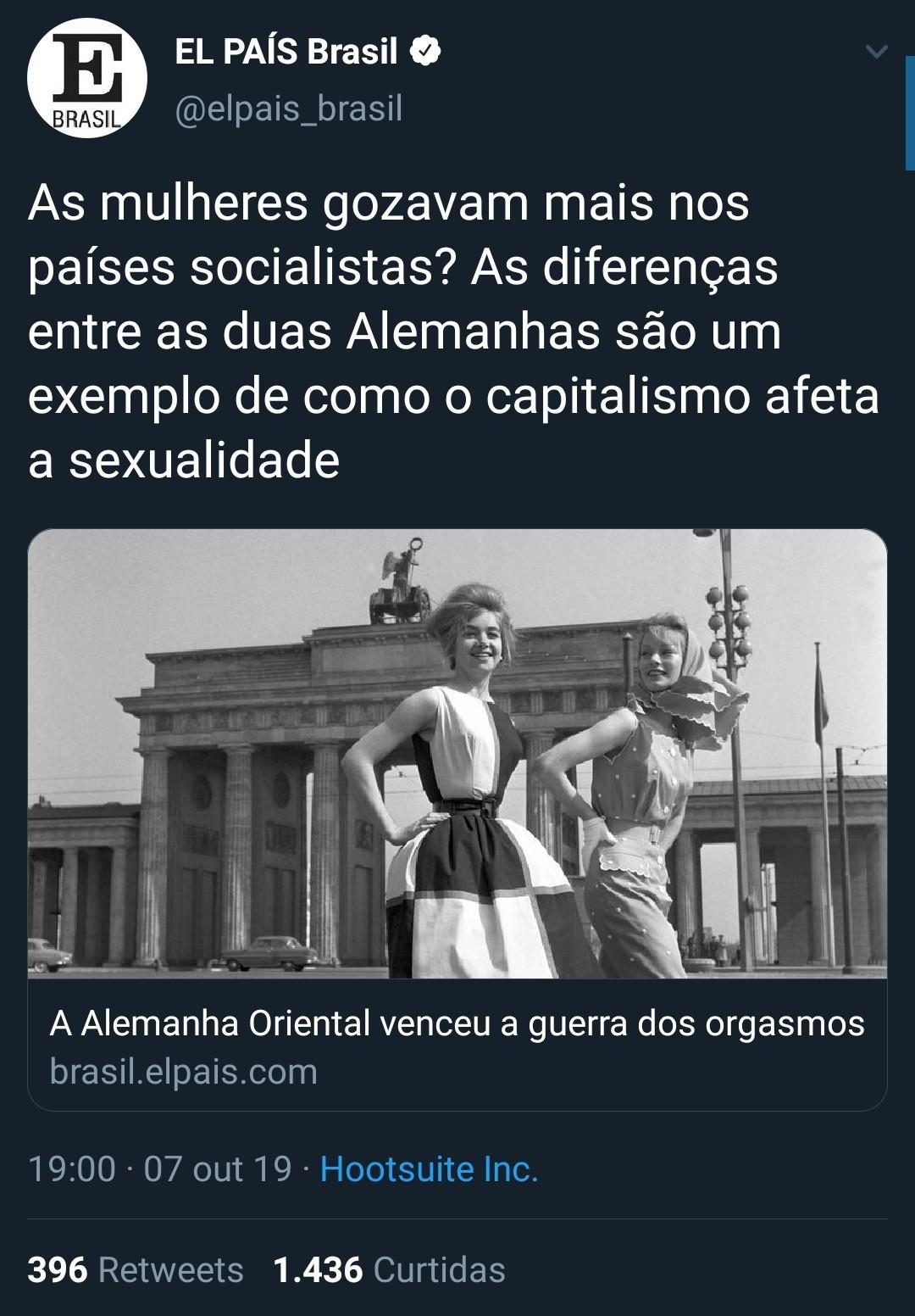 Capitalismo refutado , somente o estado faz as mulheres gozarem - meme