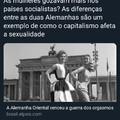 Capitalismo refutado , somente o estado faz as mulheres gozarem