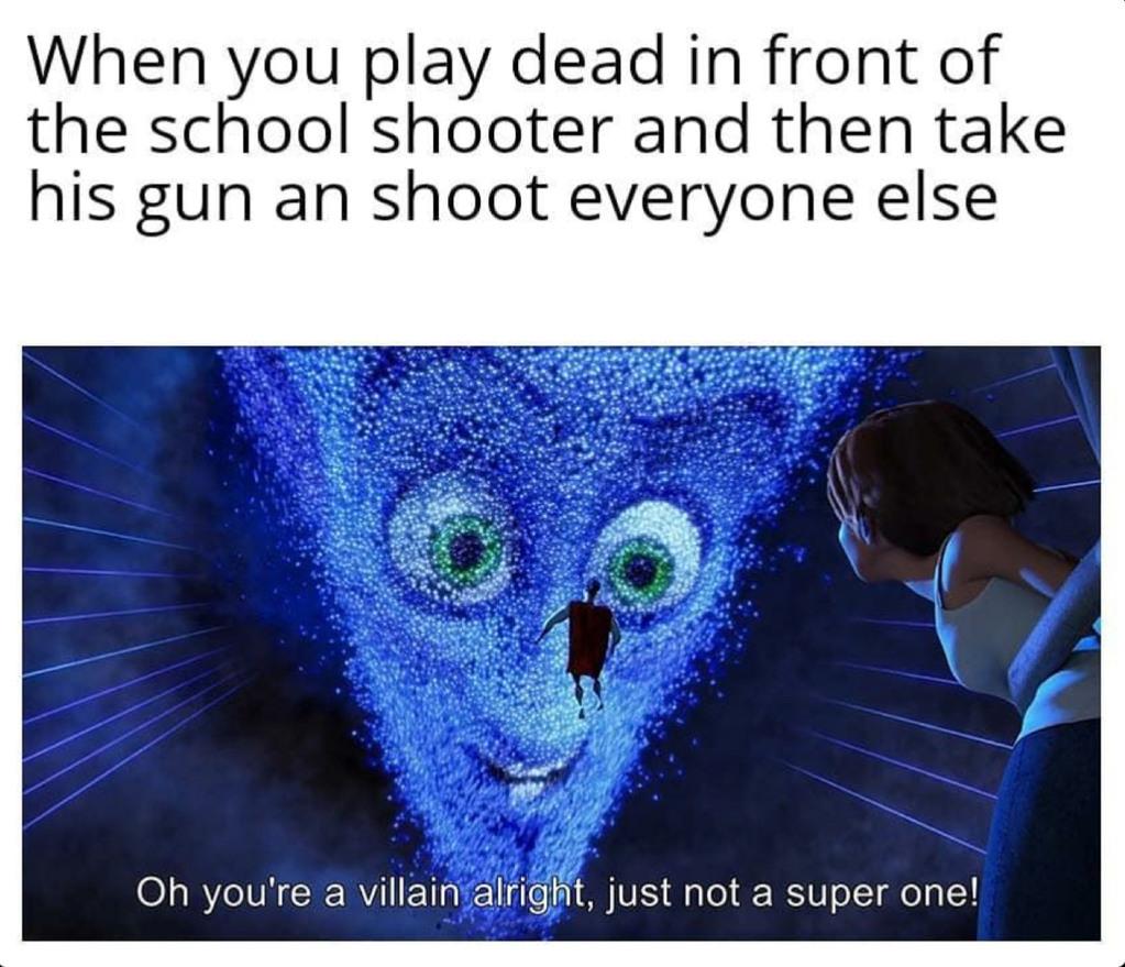 Not a supervillain? - meme