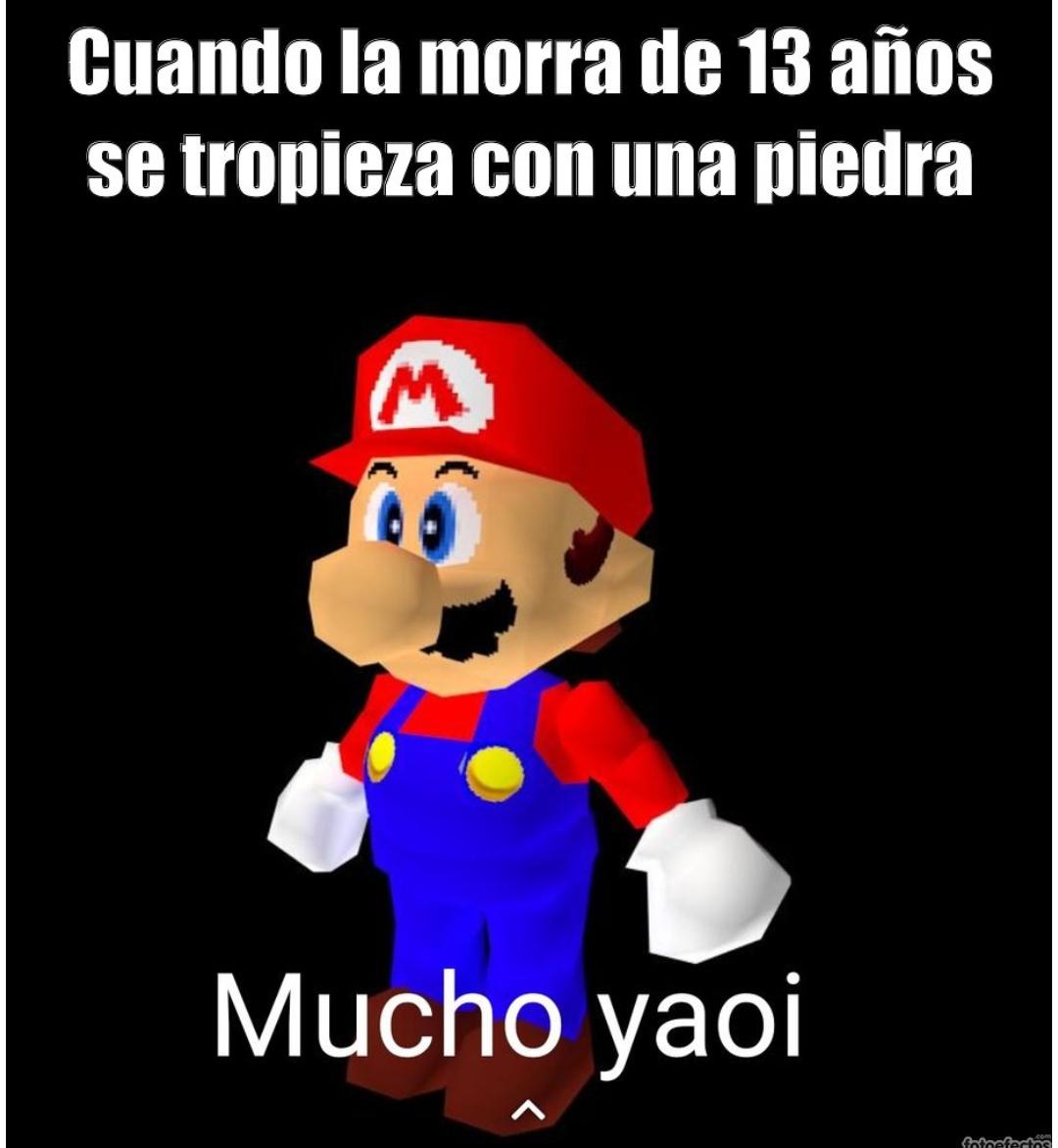 Mucho yaoi - meme