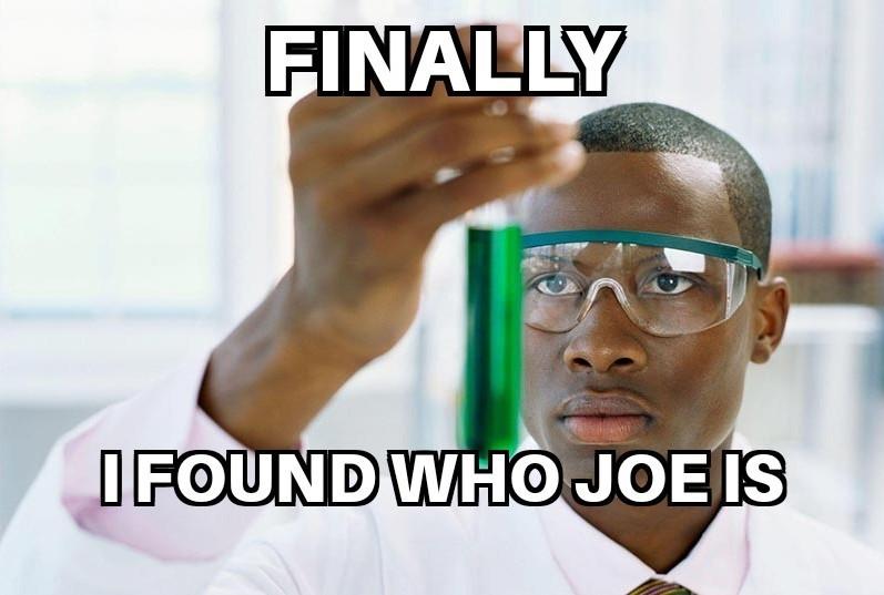 Joe - meme