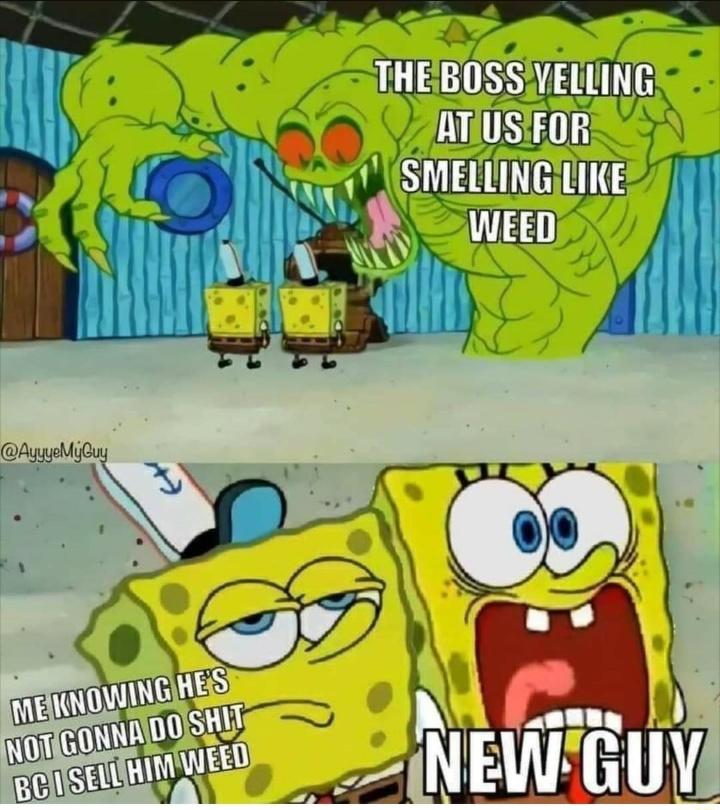 Boss scary - meme