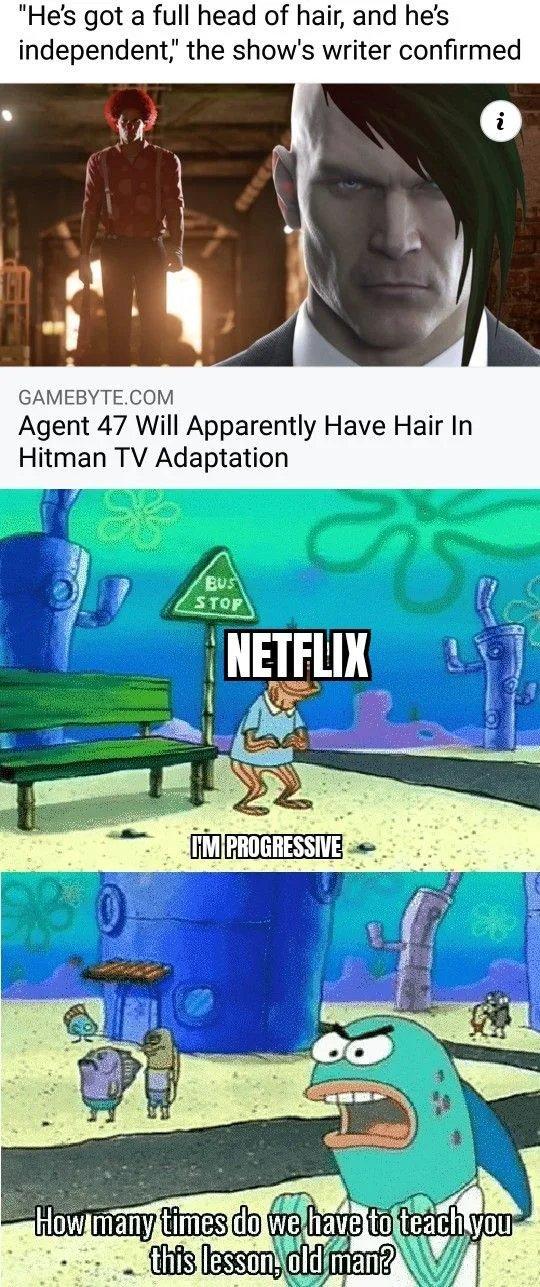 Damn Netflix - meme