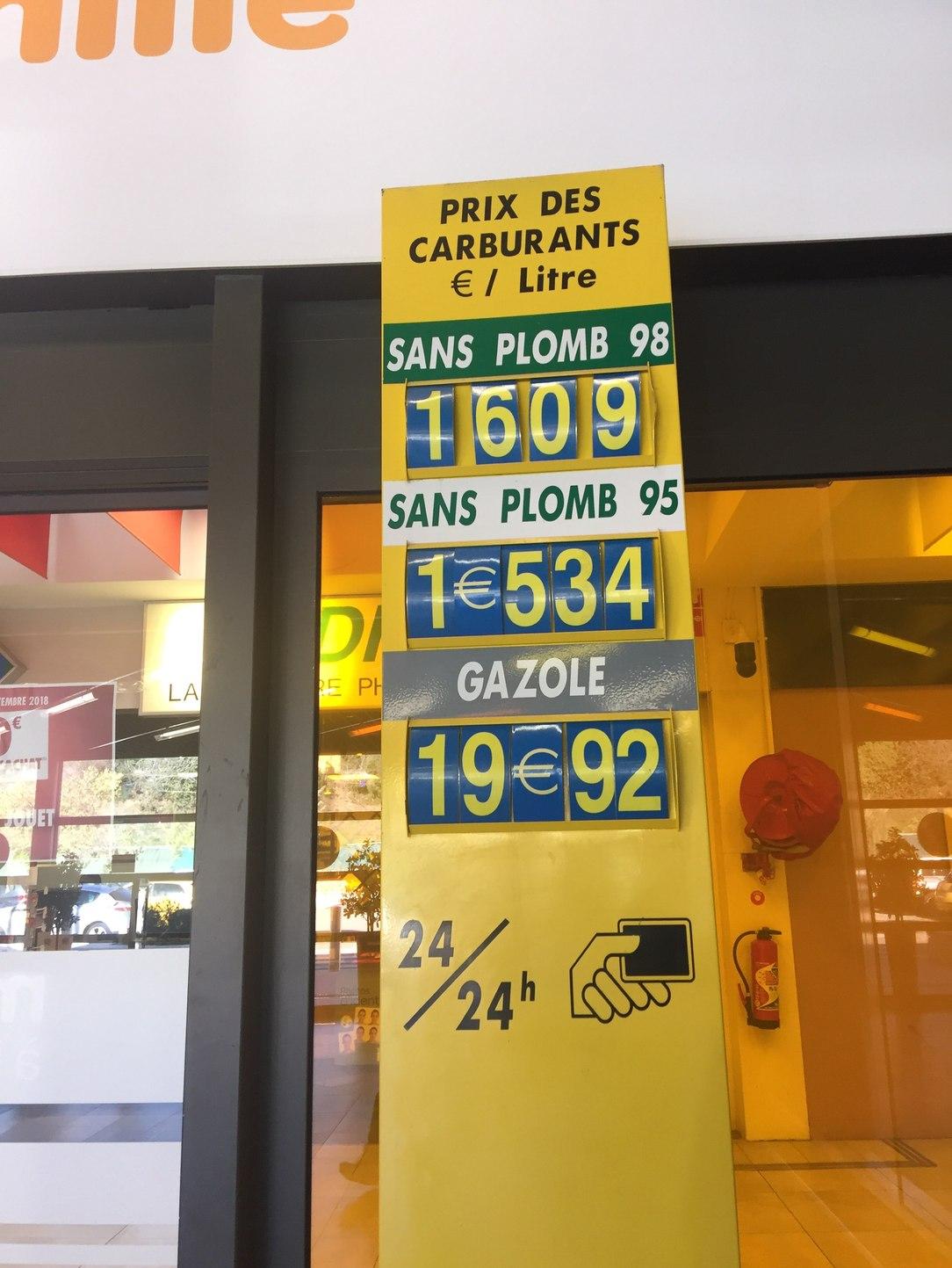Ça y est le prix du diesel a dépassé celui de l'essence ! - meme