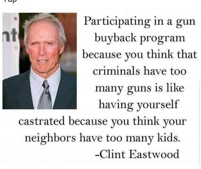Clint is right - meme
