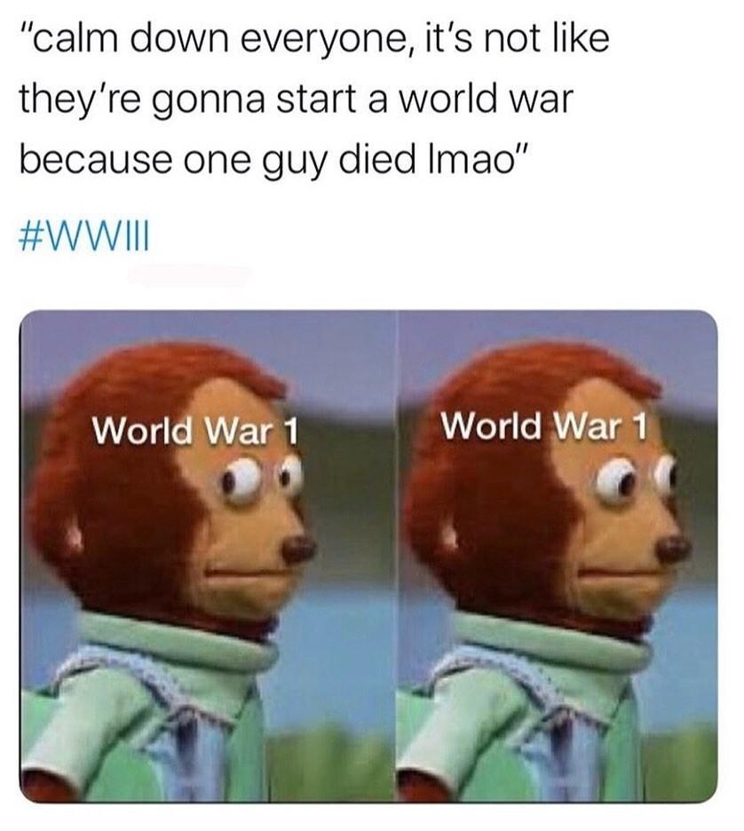 archduke franz ferdinand - meme