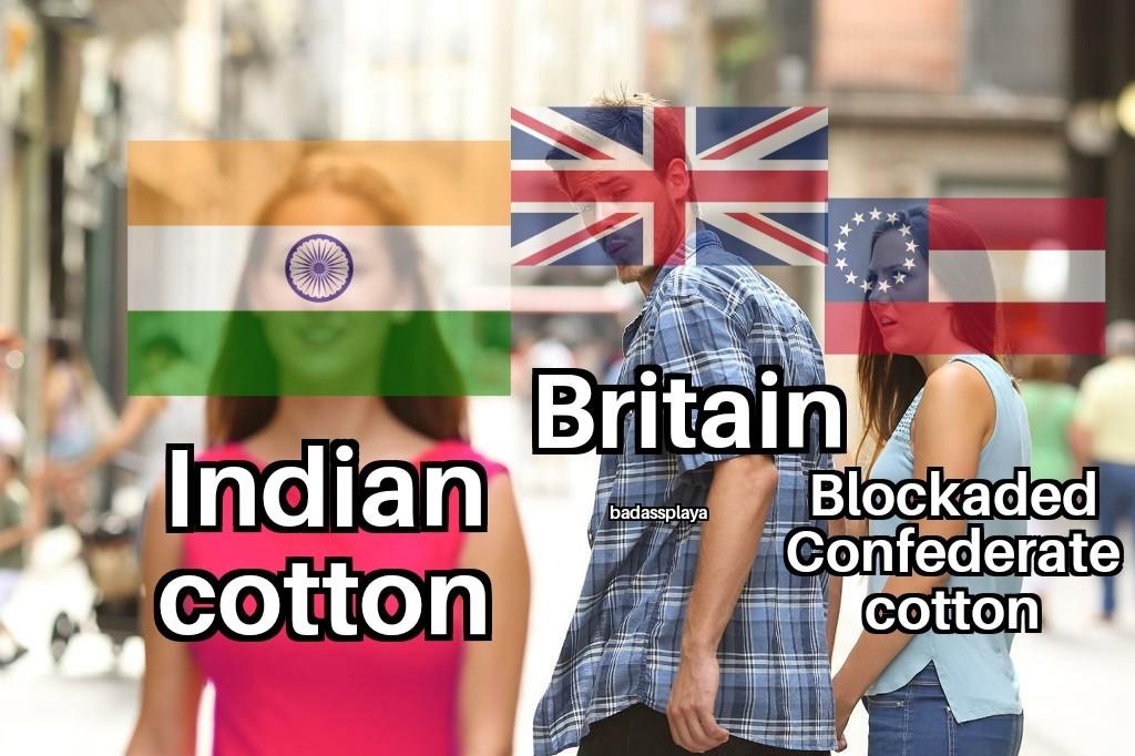 Stupid Union blockade - meme