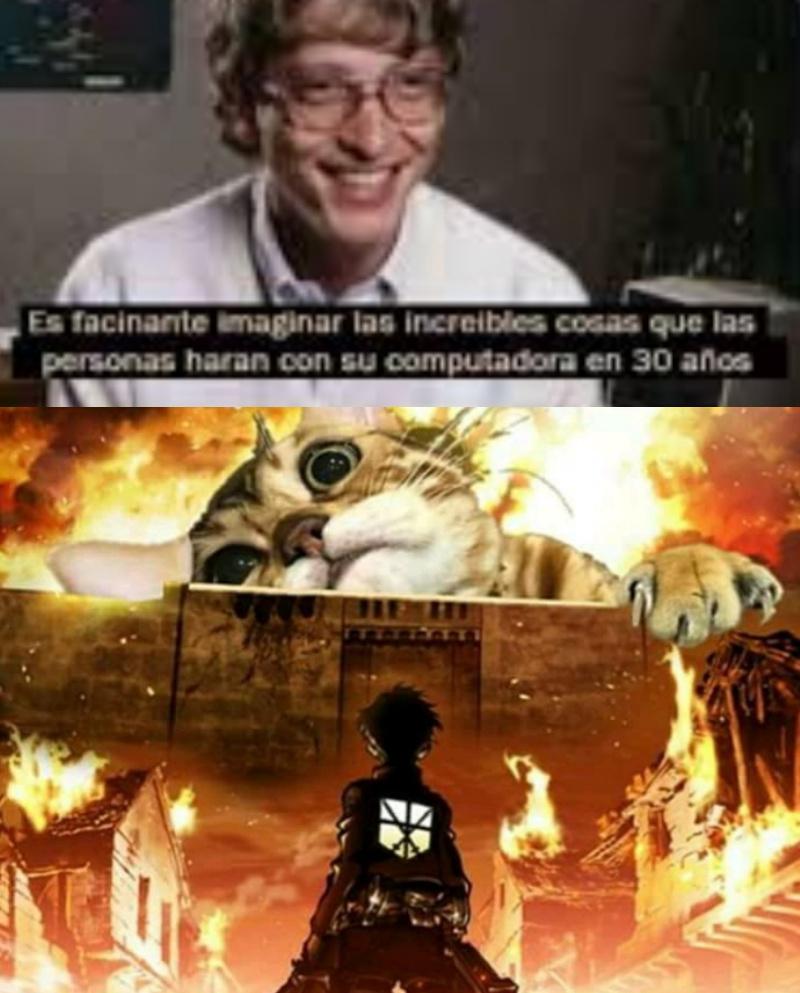 Amo a Bill Gates perdón por la plantilla en mala calidad - meme