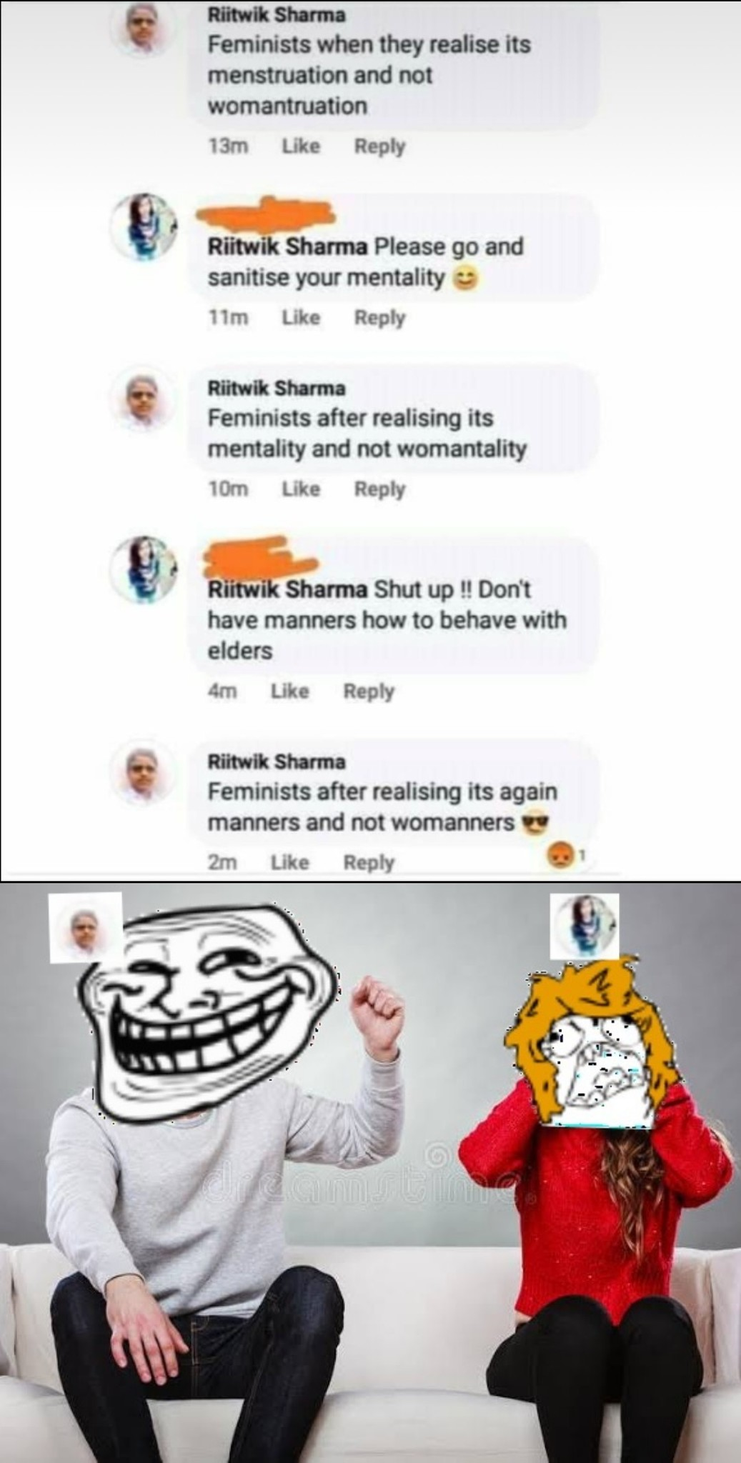 W*manners - meme