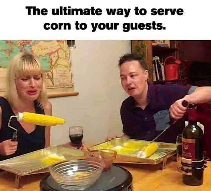 This is corny - meme