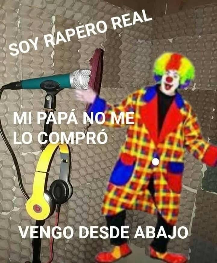 Rapear en español es lo peor que puedeshacer. aparte de naco, sin talento - meme