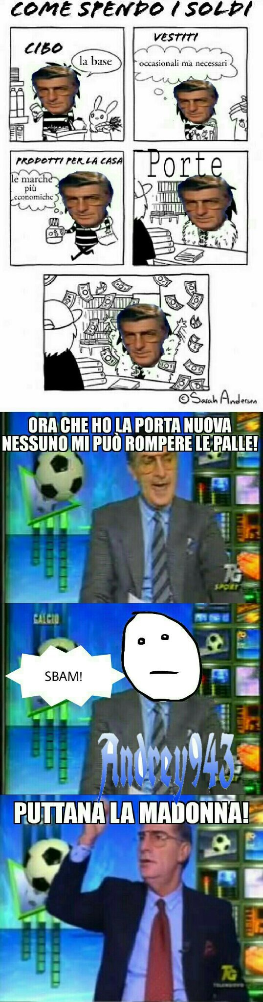Un altro meme su Germano Mosconi! Cito Dominoc, dogeon, Maty, Gb13, Perez e due peni :isee: