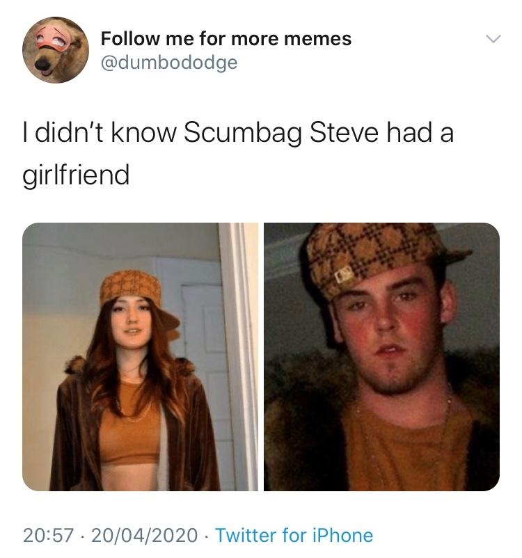 Scumbag Steve - meme
