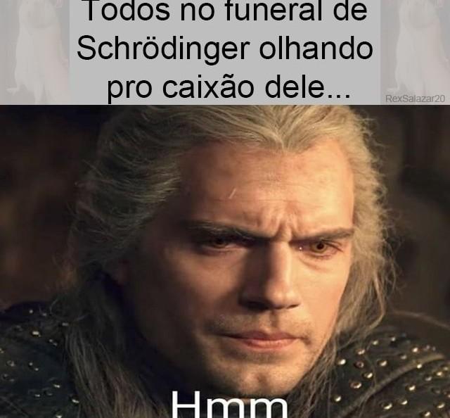 Morreu ou não morreu? Eis a questão - meme