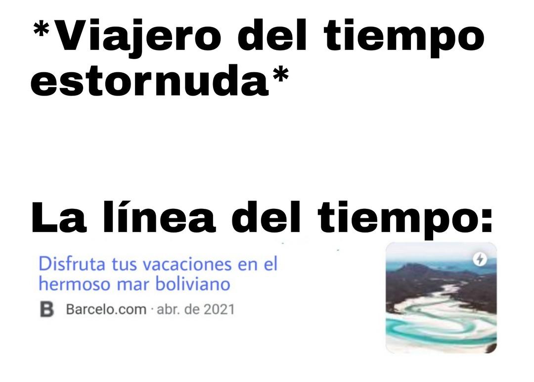 Playa boliviana - meme