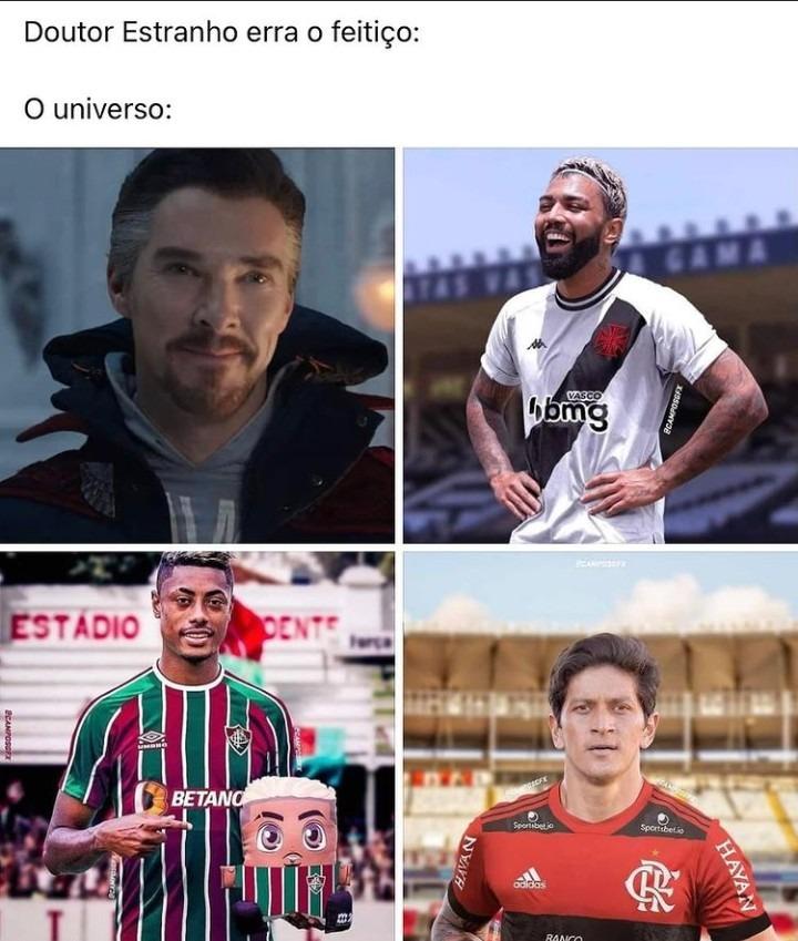 Bruno Henrique fluminense kkkkkkk - meme