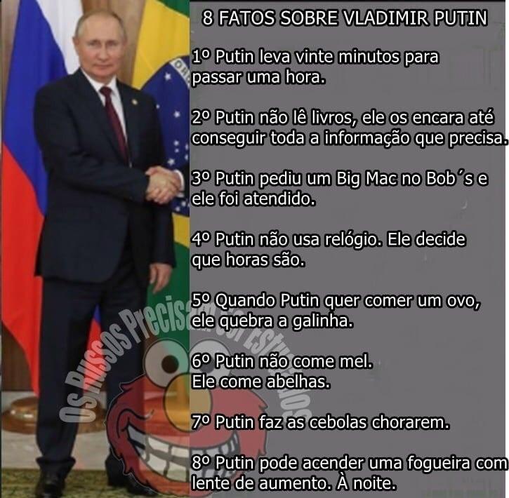 Supremo Senhor Putin - meme