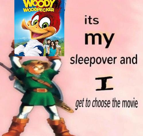 Link Chooses The Movie - meme