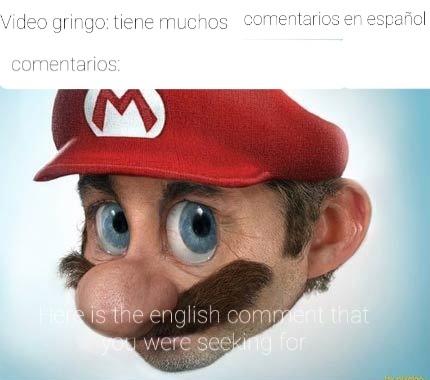 Necesitados de atención los gringos xd - meme