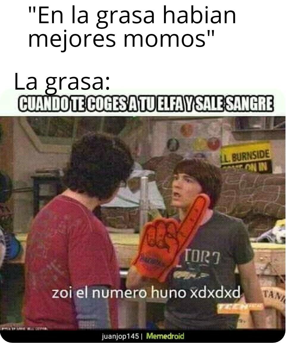 Zoi el numero huno xdxdxd - meme
