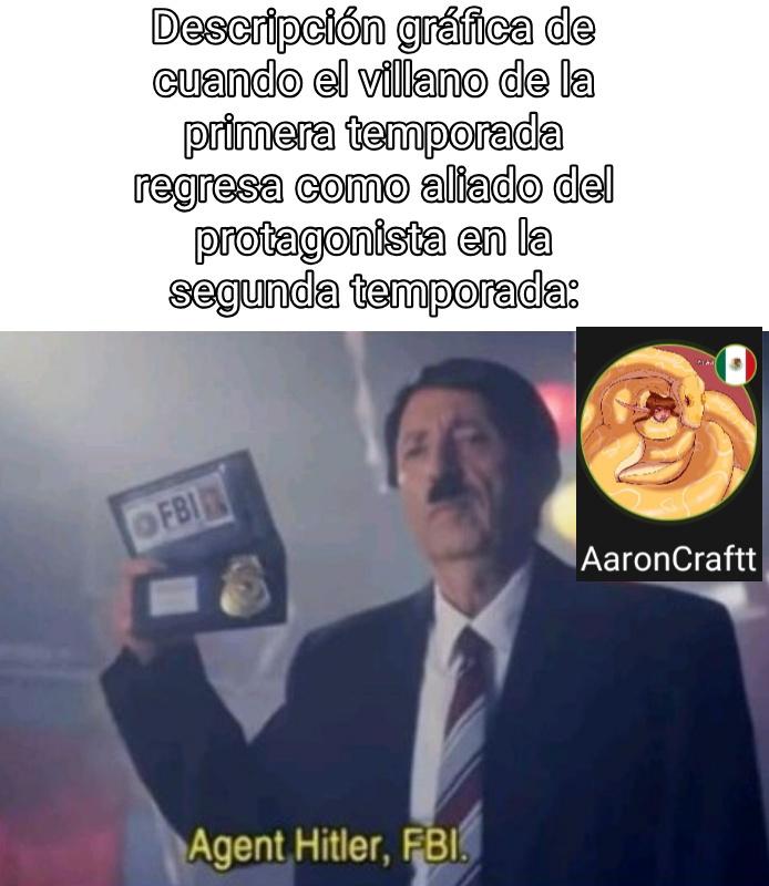 H de Hitler - meme