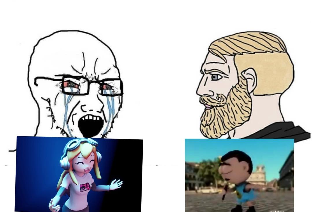 Esta muy arruinado el smg4 actual - meme