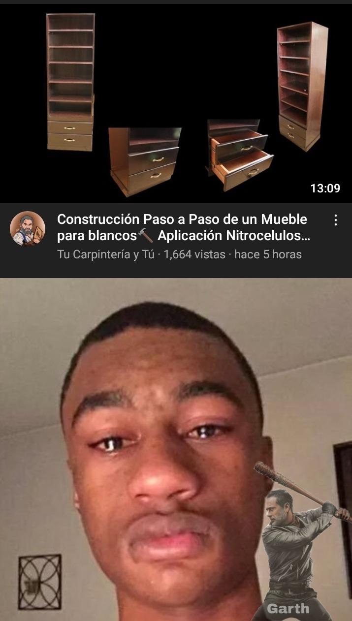 Nigga sad :son: - meme