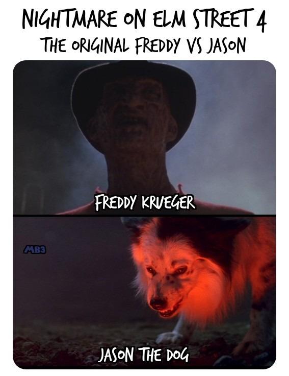 Freddy Vs Jason - meme