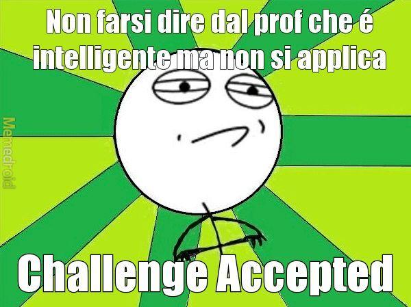 Impossible challenge - meme