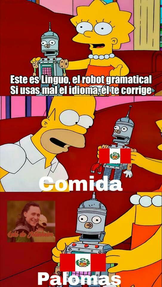 Cuestion de idioma - meme