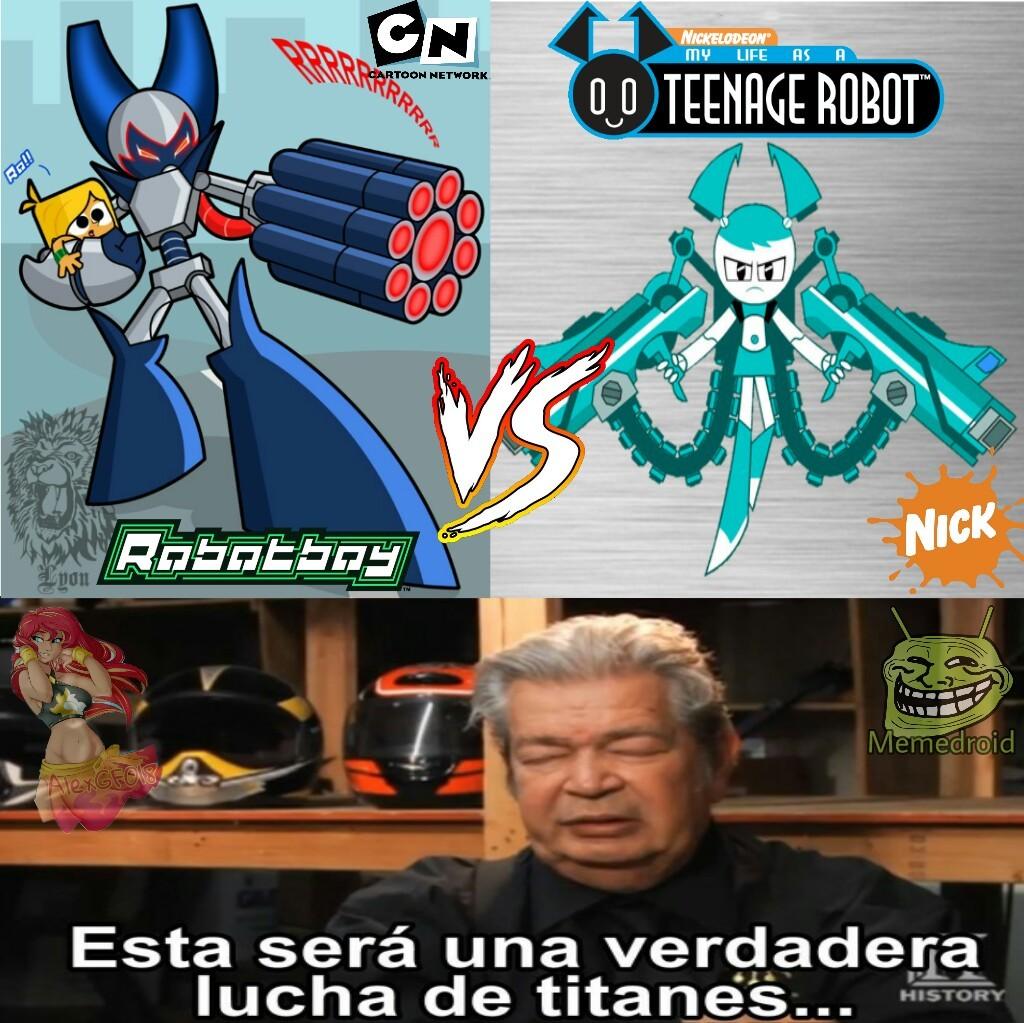 Cartoon Network VS Nickelodeon - meme