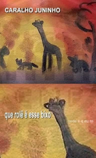 Carai juninho - meme