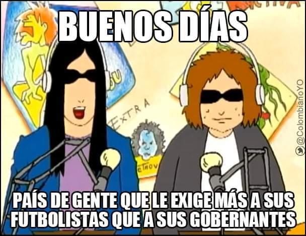 Viva colombia - meme