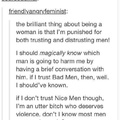 """""""not all men"""" but which men tho?"""
