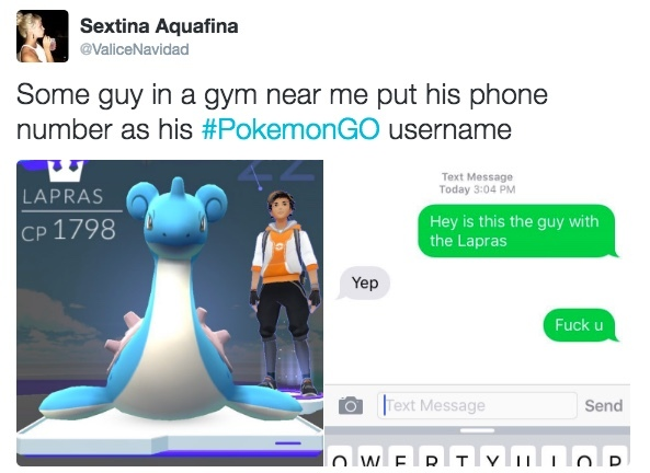 Take the lapras and kill the trainer for the blood god - meme