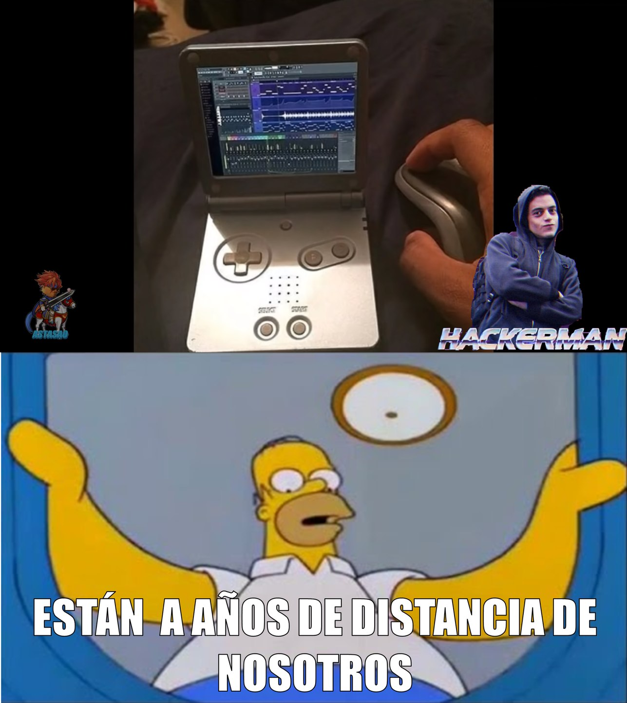 R.I.P horas invertidas en la gameboy - meme