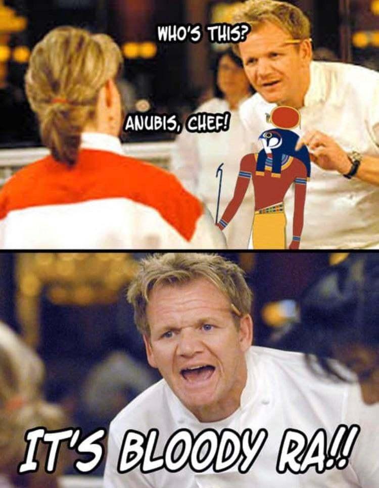 Egyptian puns be like - meme